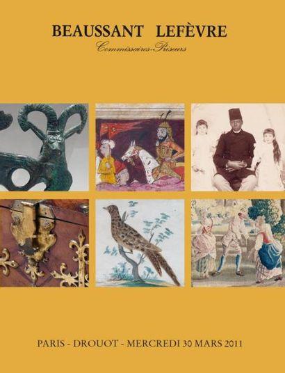 ANTIQUITÉS ART d'ORIENT DESSINS et TABLEAUX ANCIENS OBJETS d'ART et de BEL AMEUBLEMENT TAPISSERIE - TAPIS