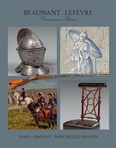 ARMES et SOUVENIRS HISTORIQUES - JOUETS et INSTRUMENTS de MUSIQUE - OBJETS d'ART et de BEL AMEUBLEMENT