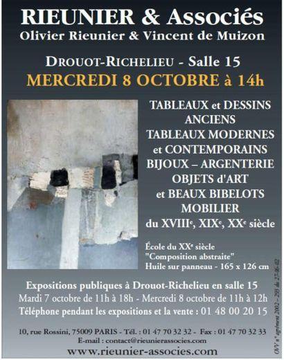 VENTE CLASSIQUE : MOBILIER / OBJETS D'ART