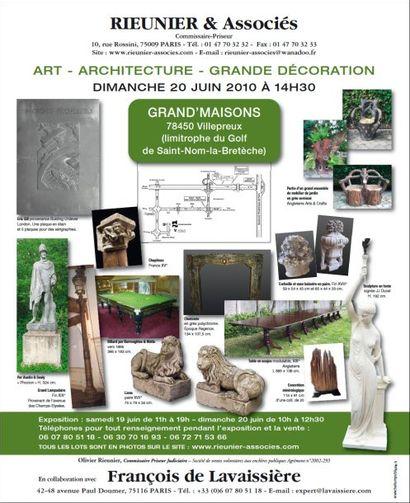 ART - ARCHITECTURE - GRANDE DÉCORATION