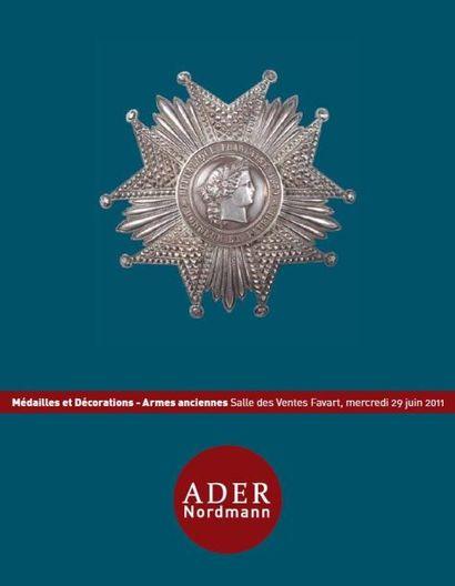 Décorations - Médailles - Ordres de chevalerie - Diplômes