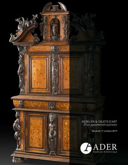 TABLEAUX ANCIENS - MOBILIER & OBJETS D'ART - Collection Mme X.