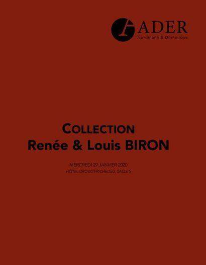 COLLECTION RENEE ET LOUIS BIRON