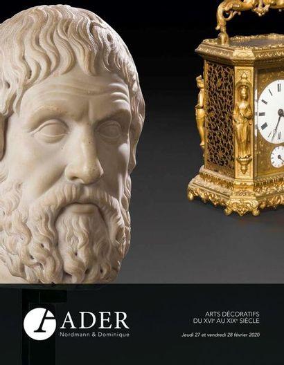 TABLEAUX ANCIENS - MOBILIER & OBJETS D'ART Part. I