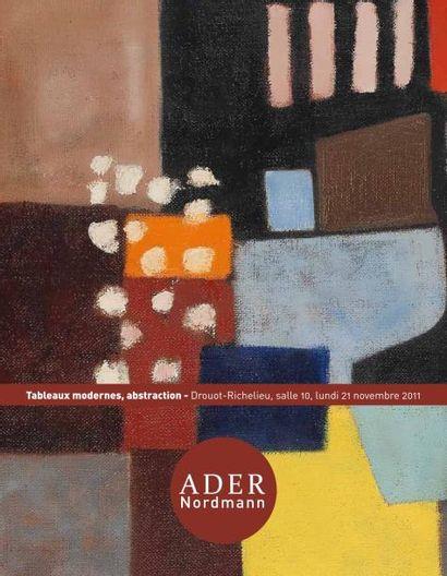 Tableaux modernes et contemporains - Abstractions des années 50
