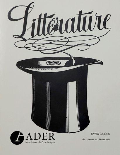 LIVRES ONLINE - Bibliothèque littéraire d'un amateur - du 27/01 au 03/02