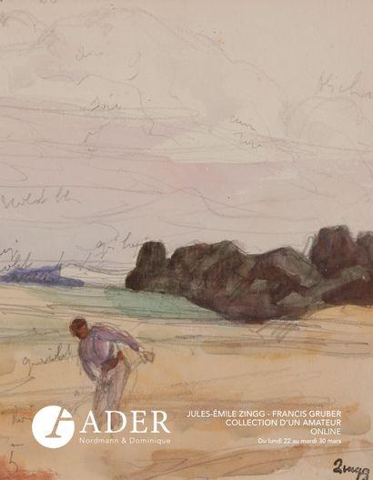 [VENTE ONLINE] Jules-Emile ZINGG - Francis GRUBER - Collection d'un amateur - DU 23 MARS AU 31 MARS