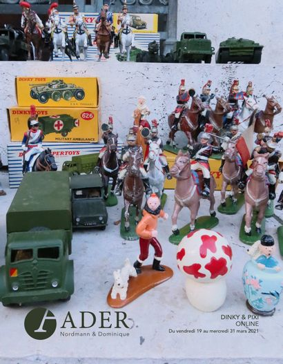 [ONLINE SALE] - DINKY TOYS, TOY SOLDIERS & PIXI