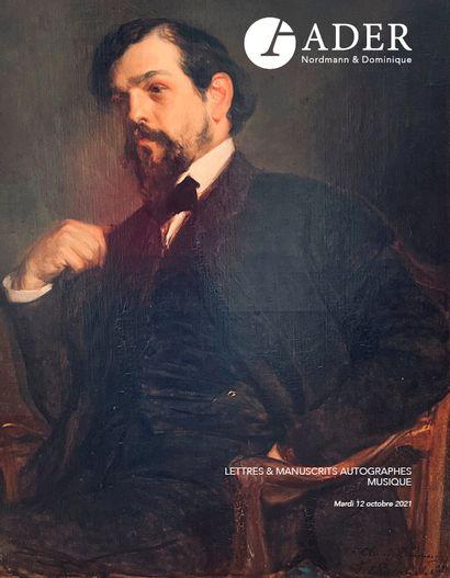 Lettres & Manuscrits Autographes - MUSIQUE