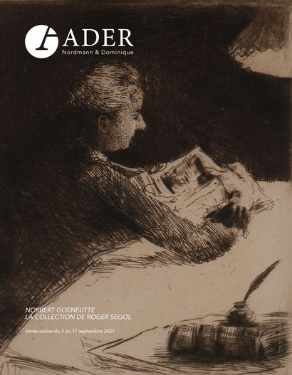 Norbert Gœneutte - La collection de Roger Segol - VENTE ONLINE du 3 au 17 septembre