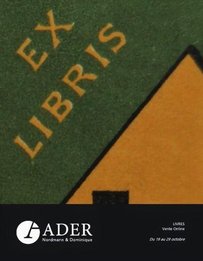 Bibliothèque d'un amateur - LIVRES - vente online du 19 au 29 octobre 2021