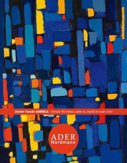 Atelier Claude CANDELA (1924-2001) -  à 15h30 Atelier Paul MANTES (1921-2004) 2e vente