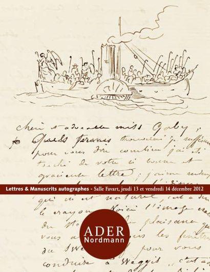 Lettres et manuscrits autographes