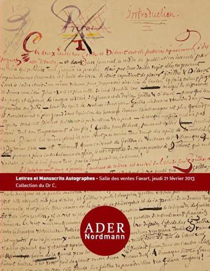 Manuscrits et autographes - Collection d'un amateur