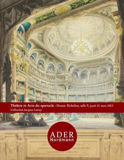 Théâtre et arts du spectacle - Collection Jacques Lorcey