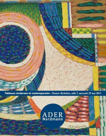 Tableaux modernes et contemporains - Abstrations des années 50