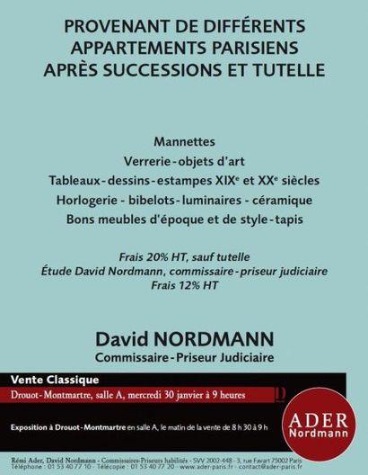 Vente à Drouot Montmartre - Vente Classique