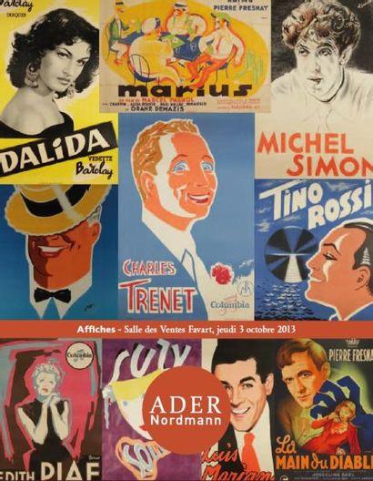 AFFICHES DE CINEMA, SPECTACLE, CHANSON : Collection André Bernard