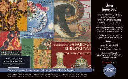 LIVRES BEAUX-ARTS Collection H ADAM