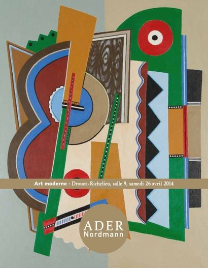 Art moderne - vente à 11h00 et à 14h00