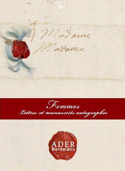 Femmes, Lettres & Manuscrits autographes - Collection Claude de Flers