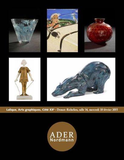 Lalique - Arts Graphiques - Côté XXe