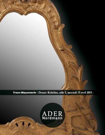 11h00 - Franc-maçonnerie -  13h30 - Tableaux anciens, Mobilier & Objets d'art