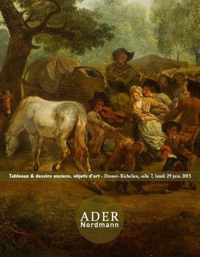 Tableaux & dessins anciens, objets d'art - Ancienne Collection Marteau