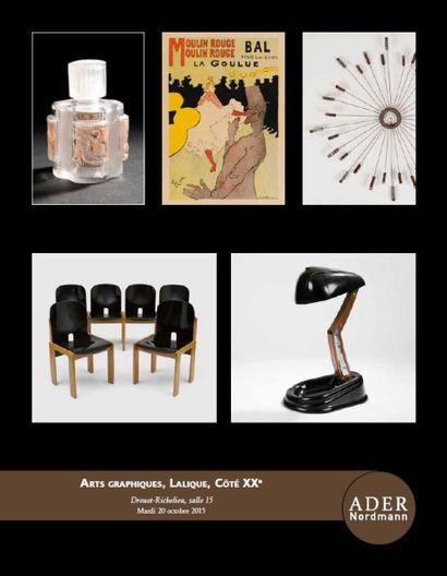 Arts graphiques, Lalique, Côté XXe