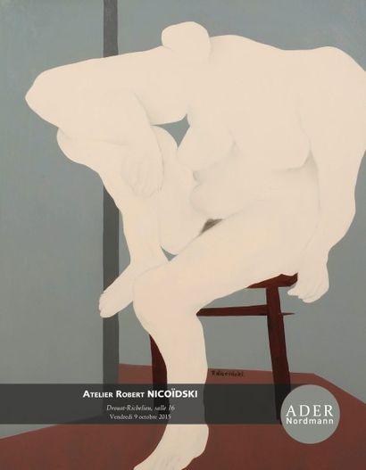 Atelier Robert Nicoïdski (1931-2001) - suite de l'exposition - vente en salle 16