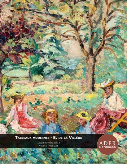 TABLEAUX MODERNES -  Emmanuel de la Villéon - Collection de Monsieur X et Savy - A divers