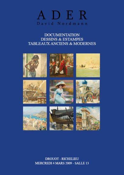 Tableaux Anciens et Modernes (Vente listée)