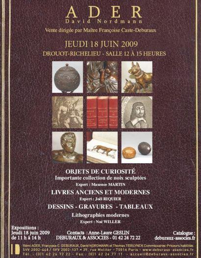 Livres anciens et modernes - Vente en direct
