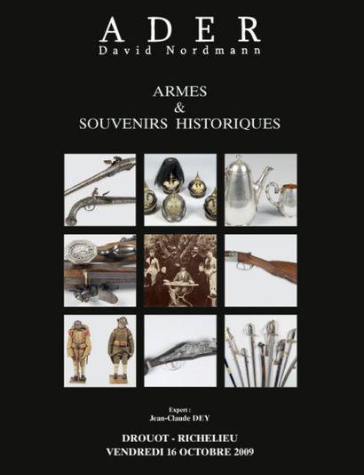 Automobile de Collection - ARMES & SOUVENIRS HISTORIQUES  à 12 h 15 et à 14 h