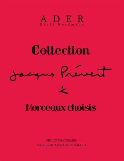 Collection Jacques Prévert