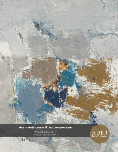 ART D'APRES GUERRE ET CONTEMPORAIN