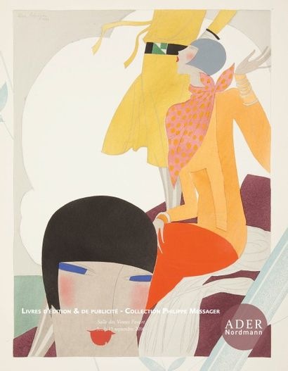 Editions publicitaires et créations publicitaires: Collection Philippe Messager et à divers - Affiches