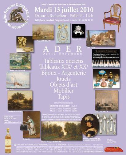 Meubles et objets d'art
