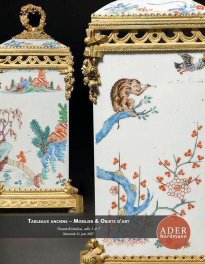 Tableaux anciens - Mobilier & Objets d'Art