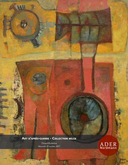 ART D'APRÈS GUERRE - COLLECTION BELGE