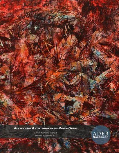 ART MODERNE ET CONTEMPORAIN du MOYEN-ORIENT