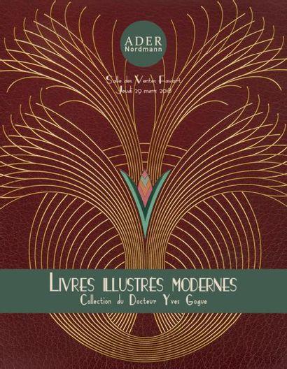 Livres illustrés modernes - Collection du Dr Yves Gogue