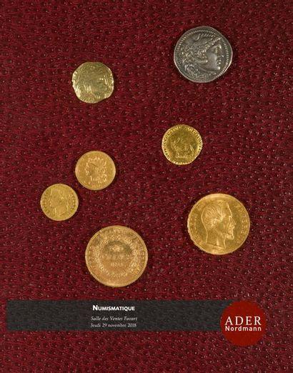 Numismatique - collection d'un amateur