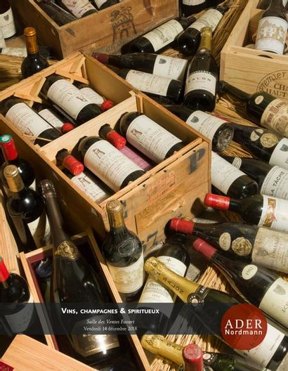 Vins, Champagnes & Spiritueux