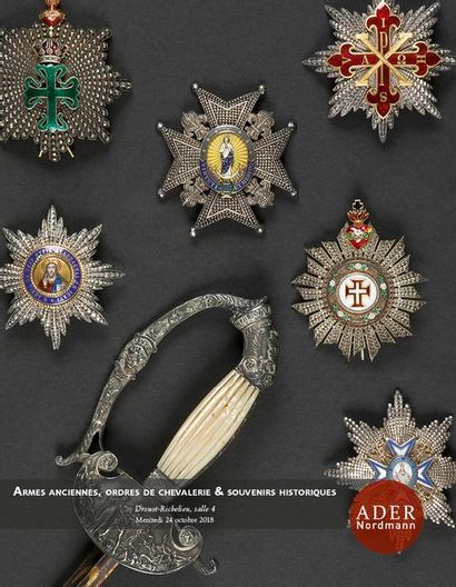 Armes Anciennes, Ordres de Chevalerie & Souvenirs Historiques