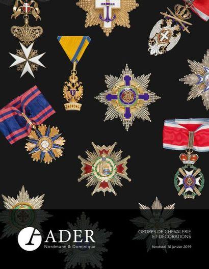 Ordres de Chevalerie - Collection de Monsieur A. 1re partie