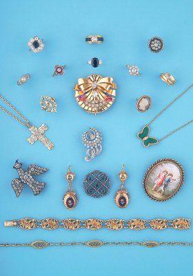 Bijoux anciens et modernes XIXème - 1930 - 1950