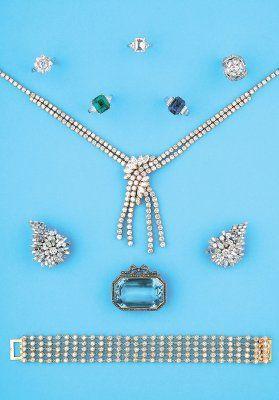 Bijoux anciens et modernes, XIXeme - 1930 - 1950