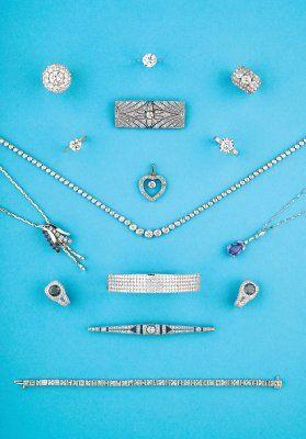 Bijoux anciens et modernes, XIX ème - 1930 - 1950