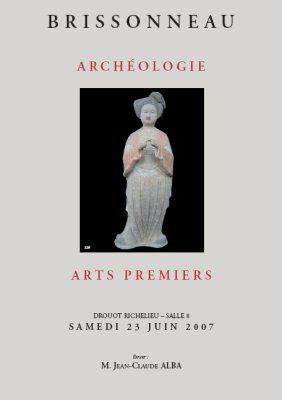Archéologie ARTS PREMIERS
